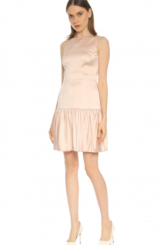 7606712b43ad5 Karen Millen Pembe Mini Abiye Elbise | ElbiseBul