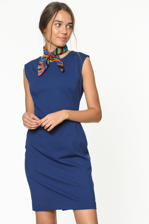 92e1eadef427b Tommy Hilfiger Mavi Mini Elbise   ElbiseBul