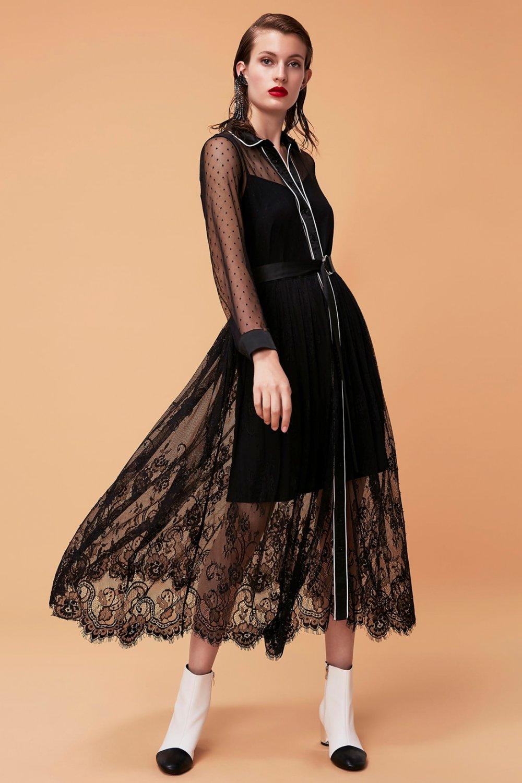 c3f1761258978 Ipekyol Siyah Uzun Abiye Elbise | ElbiseBul