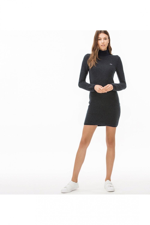 076fa18d1752b Lacoste Lacivert Mini Elbise | ElbiseBul