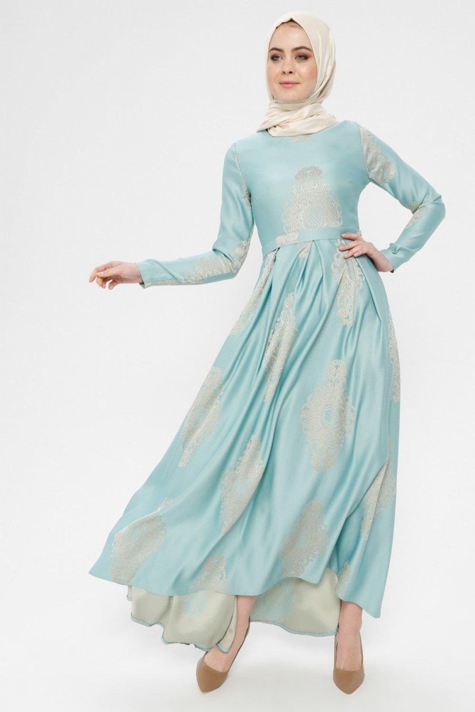 ea94229d68989 Loreen By Puane Çağla Jakarlı Abiye Elbise | ElbiseBul