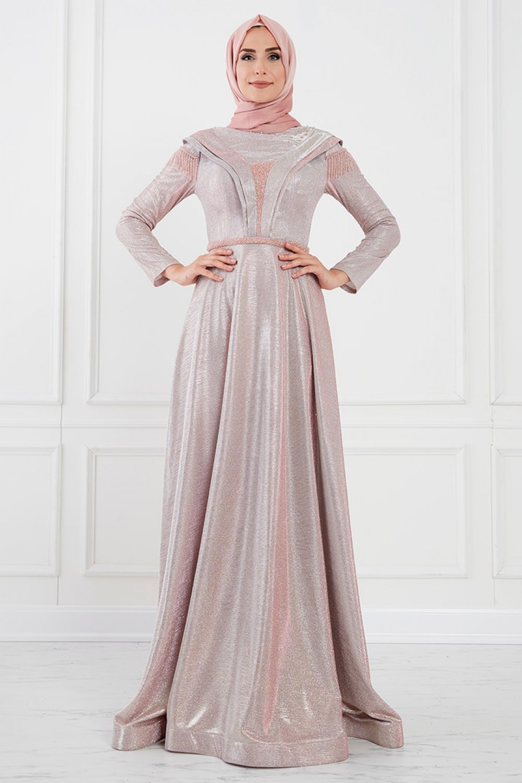 Moda Sinanlar Rose Benan Abiye Elbise