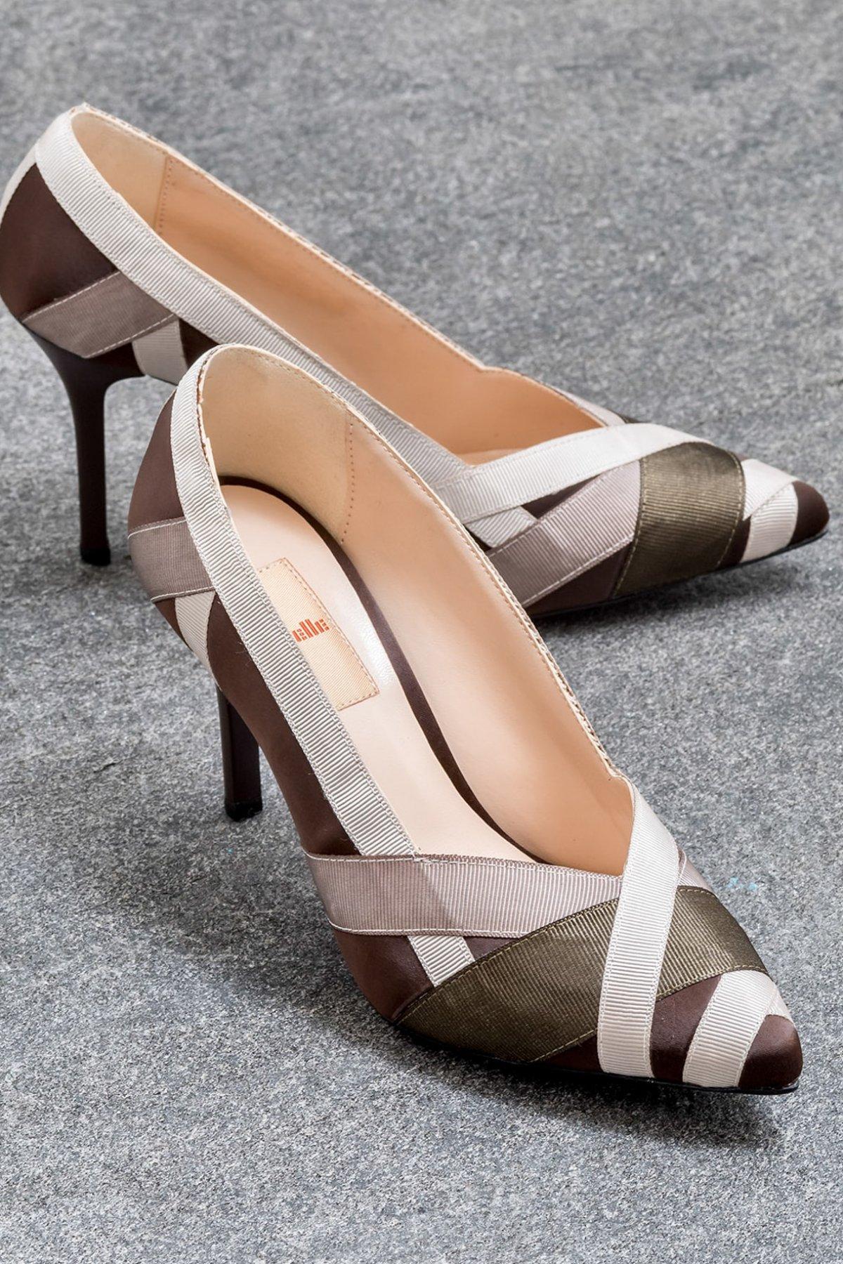 Elle Shoes Elishaa Kahverengi Topuklu Ayakkabı